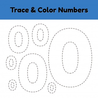 TRACE AND COLOR NUMBER